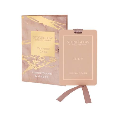 Luna - Ylang Ylang & Amber - Perfume Card