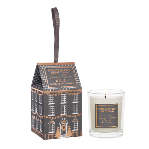 Seasonal Collection - Juniper Berry & Cedar - Scented Candle - House