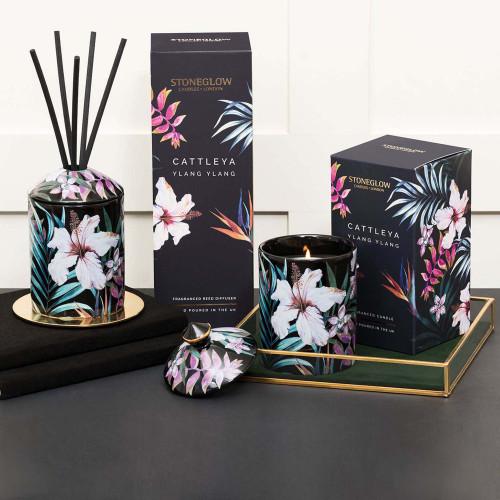 Urban Botanics - Ceramic - Cattleya | Ylang Ylang - Reed Diffuser 200ml