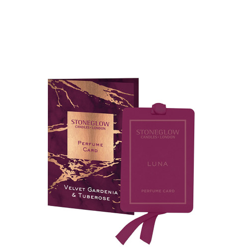 Luna Velvet Gardenia & Tuberose Perfume Card
