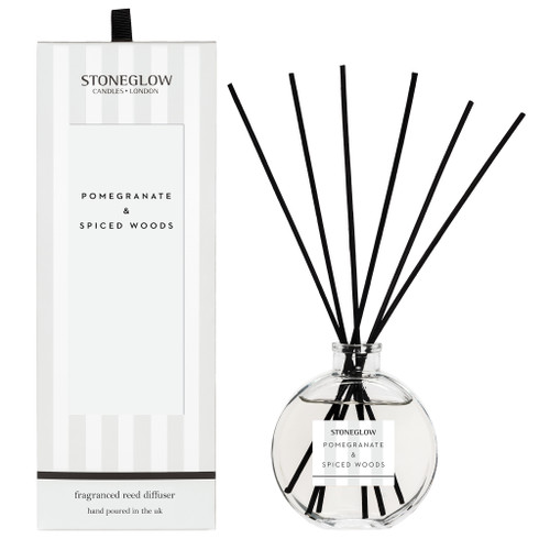 Stoneglow Candles - Modern Classics Pomegranate & Spiced Woods Diffuser