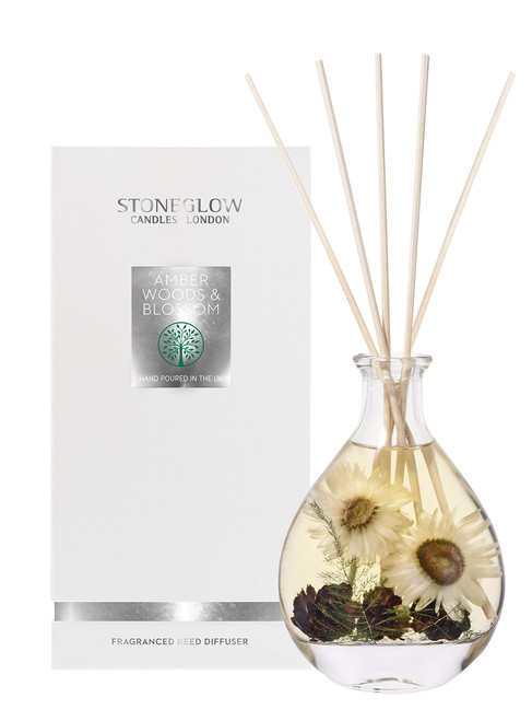 Nature's Gift - Amber Woods & Blossom - Reed Diffuser 180ml