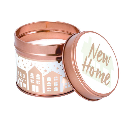 Stoneglow Candles - Milestone Tins New Home Green Apple