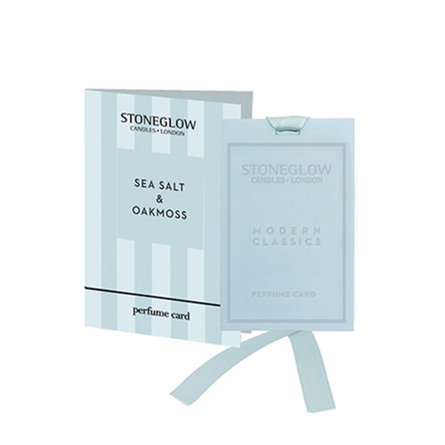 Modern Classics NEW - Sea Salt & Oakmoss Perfume card