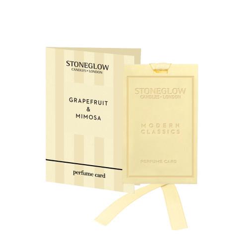 Modern Classics - Grapefruit & Mimosa - Perfume Card