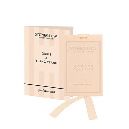 Modern Classics NEW - Orris & Ylang Ylang  Perfume card