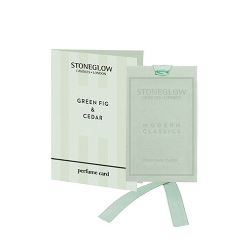 Modern Classics NEW - Green Fig & Cedar Perfume card