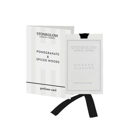 Modern Classics - Pomegranate & Spice Woods - Perfume Card