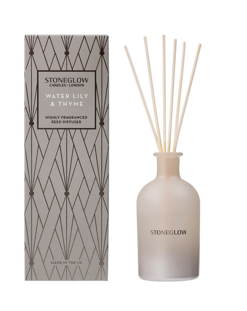 Geometrics - Water Lily & Thyme - Reed Diffuser 200ml