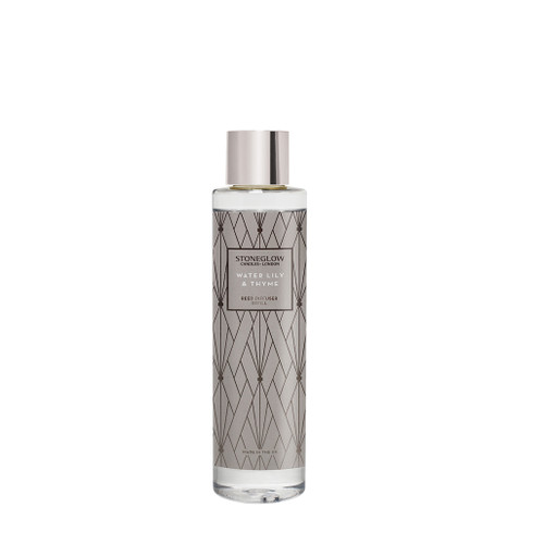 Geometric - NEW Water Lily & Thyme Reed Diffuser Refill