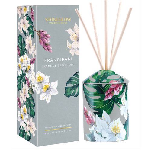 Urban Botanics - Frangipani| Neroli Blossom Reed Diffuser