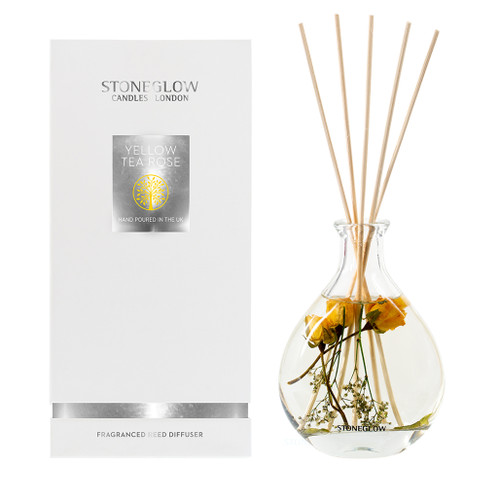 Nature's Gift NEW - Yellow Tea Rose Reed Diffuser