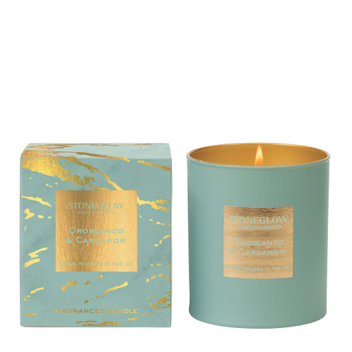 Luna - Oroblanco & Cardamom - Scented Candle - Boxed Tumbler