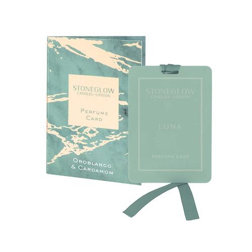 Luna - Oroblanco & Cardamom - Perfume Card