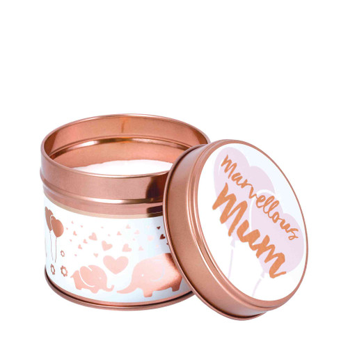 Celebration Milestone Scented Candle Tins - Marvellous Mum