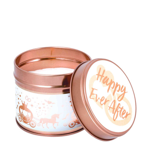 Celebration Milestone Scented Candle Tins: Happy Ever After