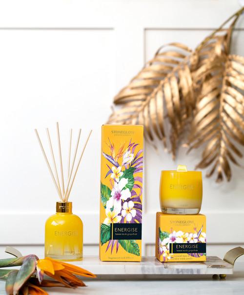 Infusion - Energise - Lemon Tea & Grapefruit - Reed Diffuser 150ml