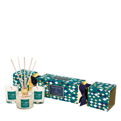 Seasonal Collection - Eucalyptus & Lime Cracker Gift Set