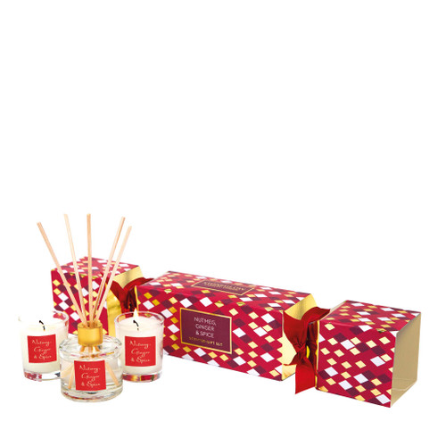 Seasonal Collection - Nutmeg Ginger & Spice - Cracker Gift Set