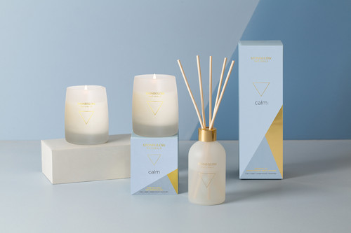 Naturals - Calm - Clary Sage | Cedarwood | Lavender - Scented Candle - Boxed Tumbler