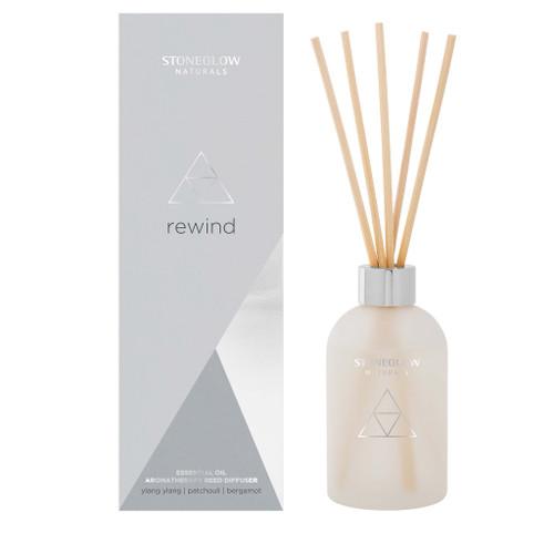 Naturals - NEW Rewind - Ylang Ylang | Patchouli | Bergamot - Reed Diffuser
