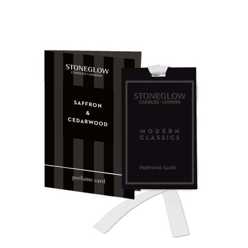 Modern Classics Limited Edition - Saffron & Cedarwood Perfume Card