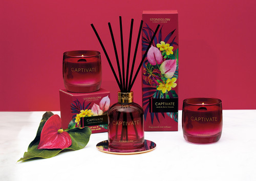 Infusion Captivate - Cassis & Cherry Blossom Reed Diffuser 150ml