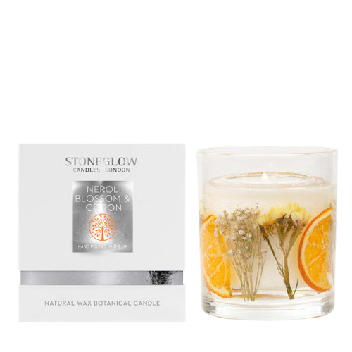 Nature's Gift - NEW Neroli Blossom & Citron Natural Wax Gel Candle