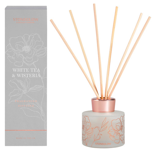 Day Flower New - White Tea & Wisteria Diffuser 120ml
