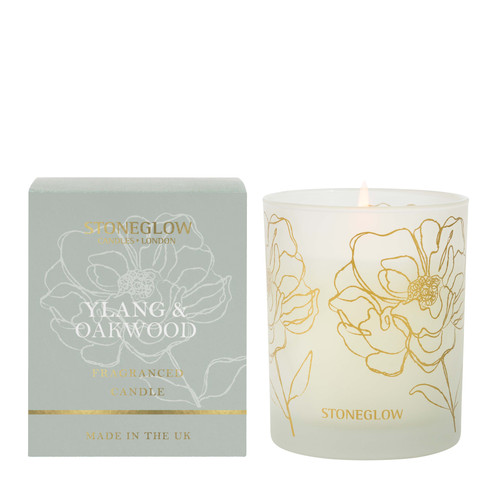 Day Flower New - Ylang & Oakwood Scented Candle