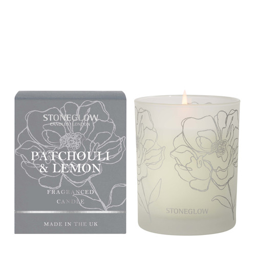 Day Flower New - Patchouli & Lemon Scented Candle