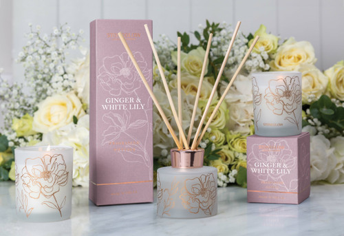 Day Flower - Ginger & White Lily - Scented Candle