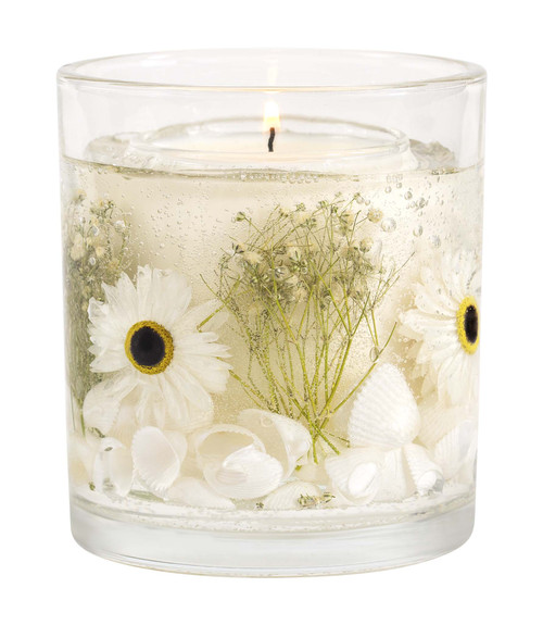 Nature's Gift - Beach Daisy - Natural Wax Scented Candle - Gel Tumbler