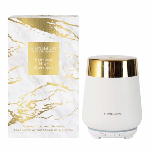 Luna - Perfume Mist Diffuser - White/Gold