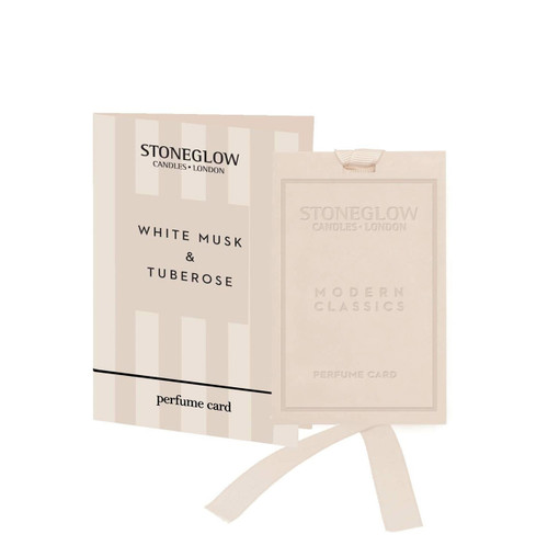 Modern Classics - White Musk & Tuberose - Perfume Card