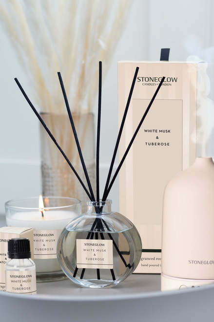 Modern Classics - White Musk & Tuberose - Scented Candle - Boxed Tumbler