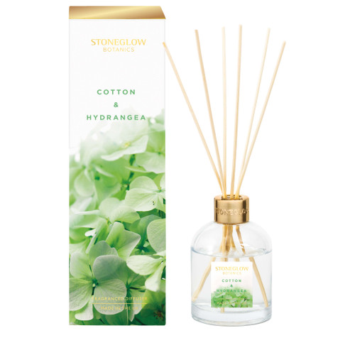 Botanic - Cotton & Hydrangea Diffuser 150ml