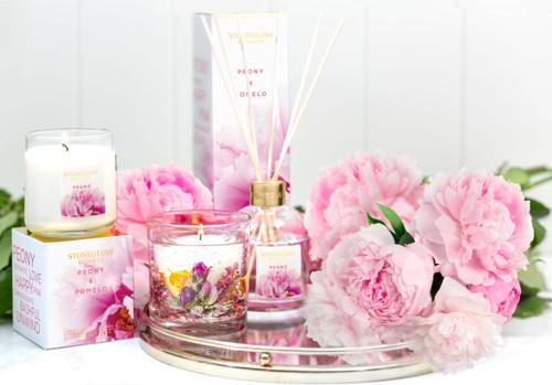 Botanics - Rose & Peony - Scented Candle - Boxed Tumbler