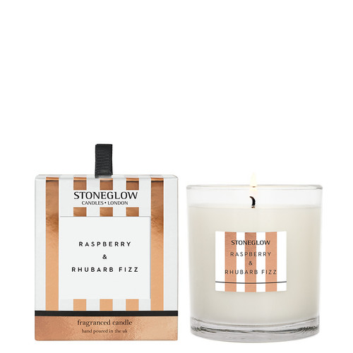 Modern Classics Anniversary Edition - Raspberry & Rhubarb Fizz - Scented Candle - Boxed Tumbler