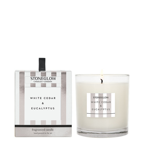 Modern Classics Anniversary Edition - White Cedar & Eucalyptus - Scented Candle - Boxed Tumbler