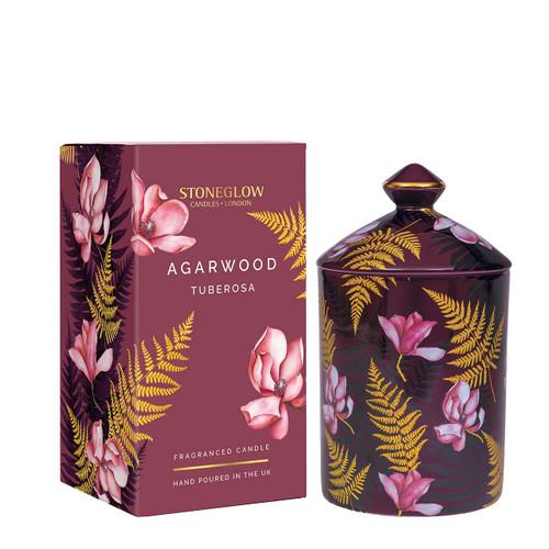 Urban Botanics - Ceramic - Agarwood | Tuberosa - Scented Candle