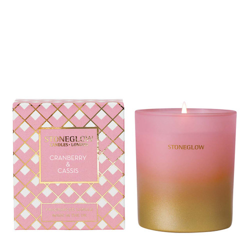 Seasonal Collection - Cranberry & Cassis - Scented Candle - Boxed Tumbler