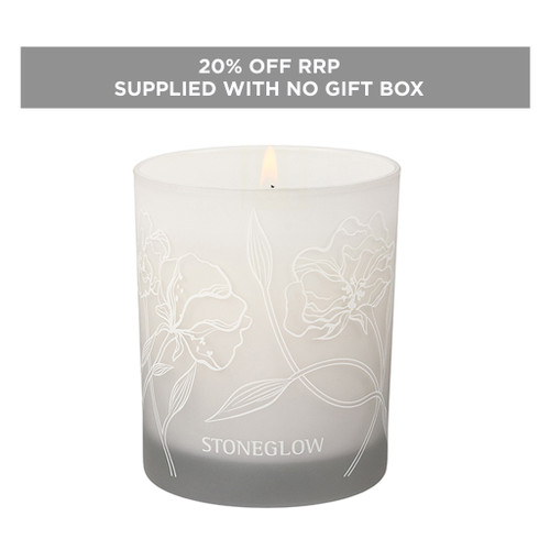Day Flower  - White Tea & Wisteria - Scented Candle (No packaging)