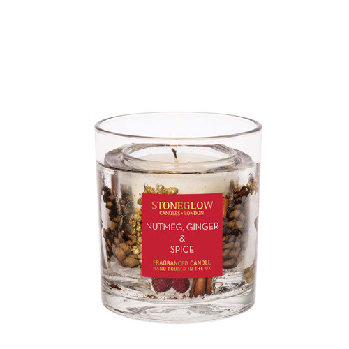 Seasonal Collection - Nutmeg, Ginger & Spice - Natural Wax Scented Candle - Gel Tumbler