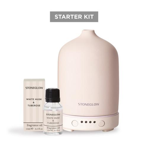 Stone Modern Classics Starter Kit with White Musk & Tuberose Fragrance Oil