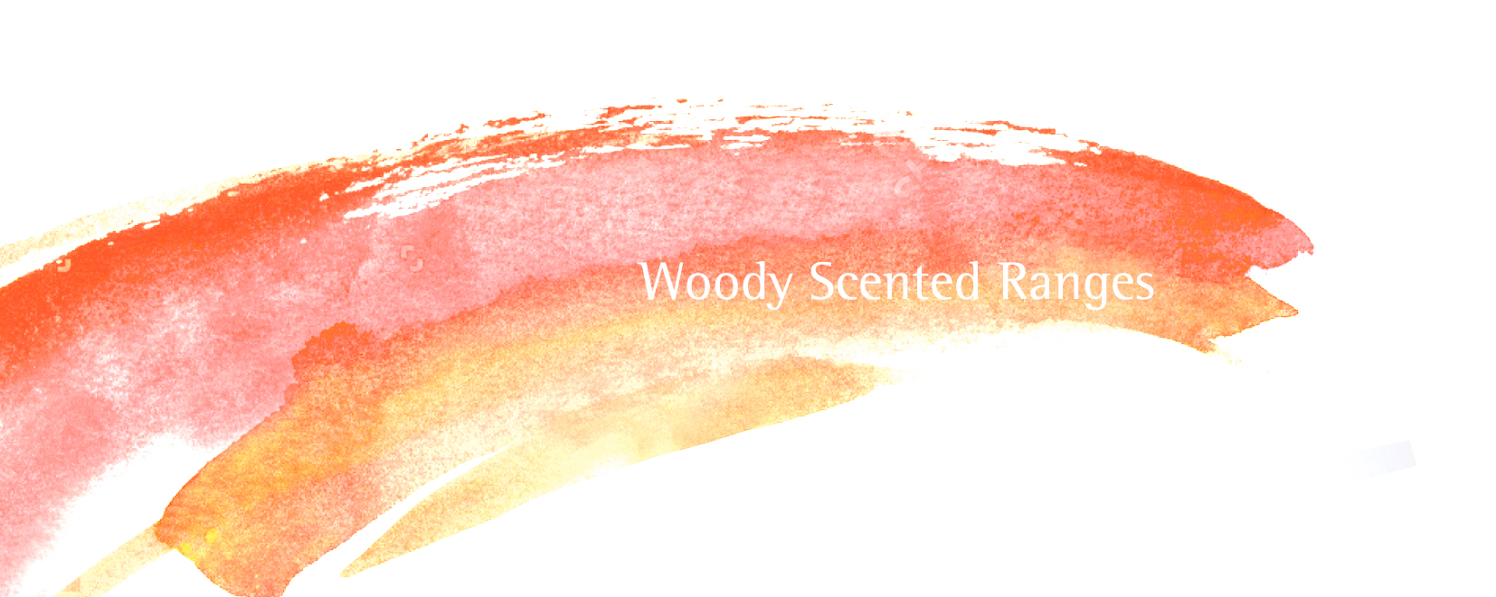 Woody scented ranges of candles and reed diffusers