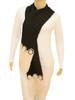 Knit Floral Scarf . Premium Alpaca - Fair Trade