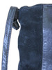 Textured Stripes Recycled Leather Small Handbag