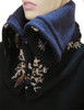 Aspen Snood Scarf Snowflake - Recycled Material