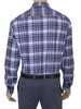 Men's Organic Cotton Long Sleeve Shirt Charles Duke Of Cornwall Plaid